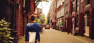 Fall in love of Netherlands with the Amsterdam Walk
